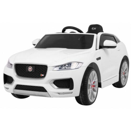 Jaguar F-Pace elektromos kisautó gyerekeknek (távirányítóval, 1 személyes) fehér
