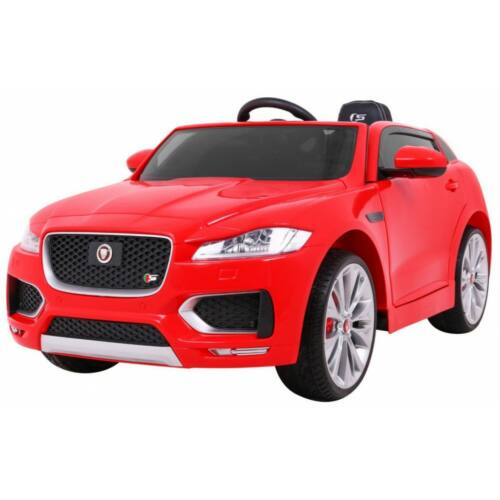 Jaguar F-Pace elektromos kisautó gyerekeknek (távirányítóval, 1 személyes) piros
