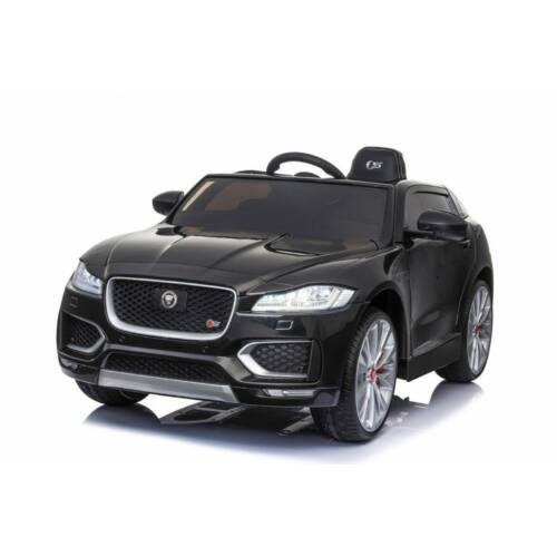 Jaguar F-Pace elektromos kisautó gyerekeknek (távirányítóval, 1 személyes) lakkozott fekete