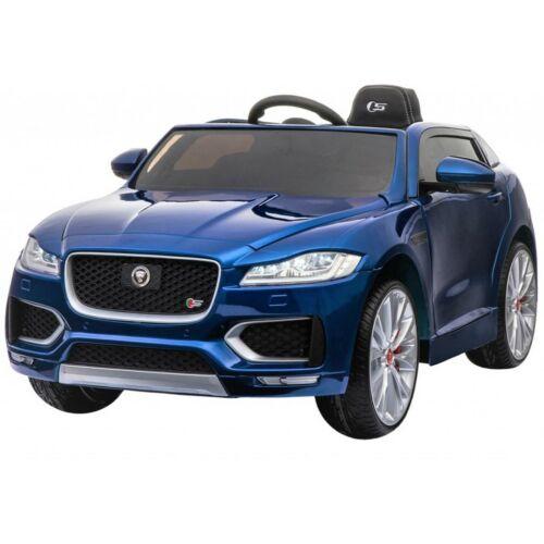 Jaguar F-Pace elektromos kisautó gyerekeknek (távirányítóval, 1 személyes) lakkozott kék