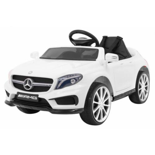 Mercedes AMG GLA-45 elektromos kisautó gyerekeknek (távirányítóval, 1 személyes) fehér