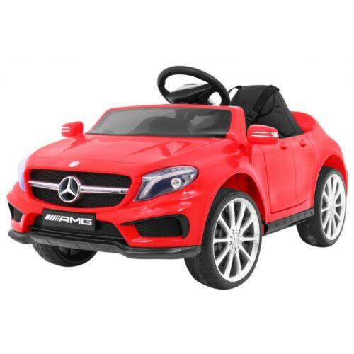 Mercedes AMG GLA-45 elektromos kisautó gyerekeknek (távirányítóval, 1 személyes) piros