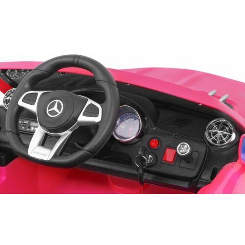 Mercedes AMG SL65 elektromos kisautó gyerekeknek (távirányítóval, 1 személyes) műszerfal