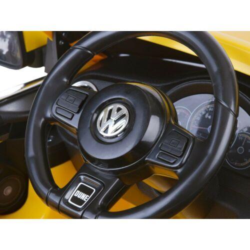 Volkswagen Bogár elektromos kisautó gyerekeknek (távirányítóval, 1 személyes) műszerfal