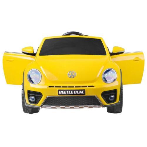 Volkswagen Bogár elektromos kisautó gyerekeknek (távirányítóval, 1 személyes) szemből