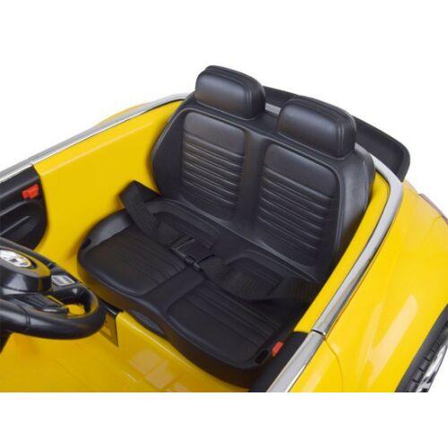 Volkswagen Bogár elektromos kisautó gyerekeknek (távirányítóval, 1 személyes) ülés