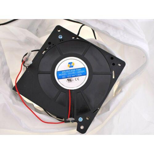 Téli dekorációnak felfújható és világító Hóember (180 cm) ventilátor