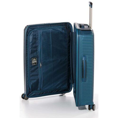 Yearz By March Canyon bőrönd (törhetetlen, vízhatlan cipzár) kék belseje