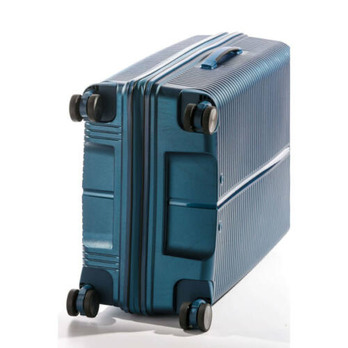 Yearz By March Canyon bőrönd (törhetetlen, vízhatlan cipzár) kék kerekek