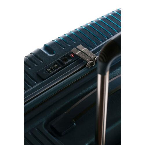 Yearz By March Canyon bőrönd (törhetetlen, vízhatlan cipzár) kék zár