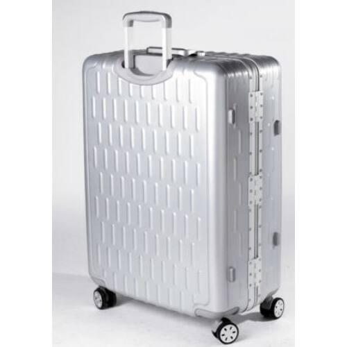 Yearz By March Discovery alumínium vázas bőrönd hátulról