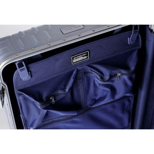 Yearz By March Discovery alumínium vázas bőrönd belső