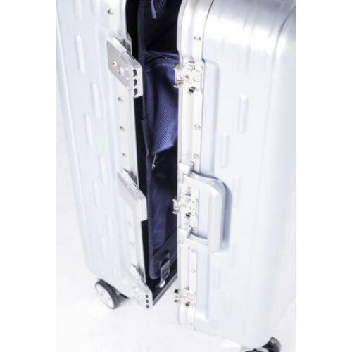 Yearz By March Discovery alumínium vázas bőrönd zárak