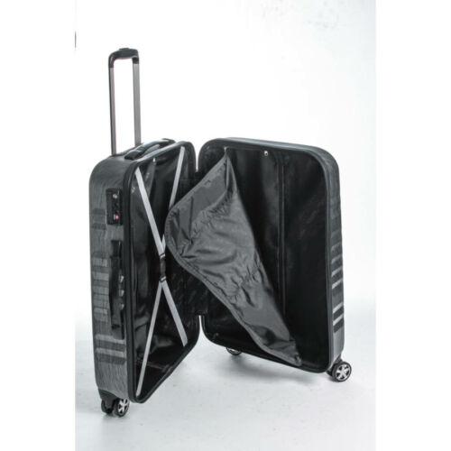 Yearz By March Fly fekete bőrönd belső