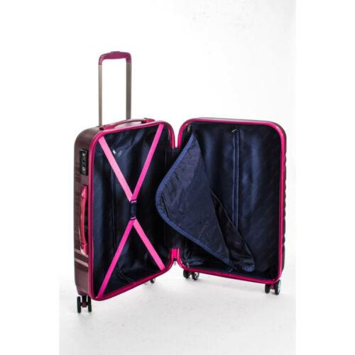 Yearz By March Fly bordó bőrönd belső