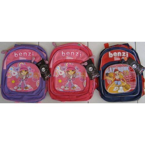 Benzi gyermek hátizsák színek: lila, rózsaszín, piros/sötétkék