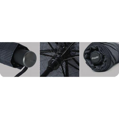 Doppler félautomata férfi esernyő (Clip Carbon) - reszlet