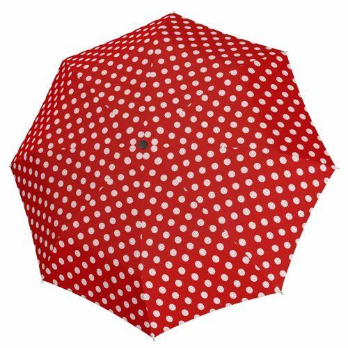 Derby kézi nyitású női esernyő (Hit Mini Balloon) piros nyitva