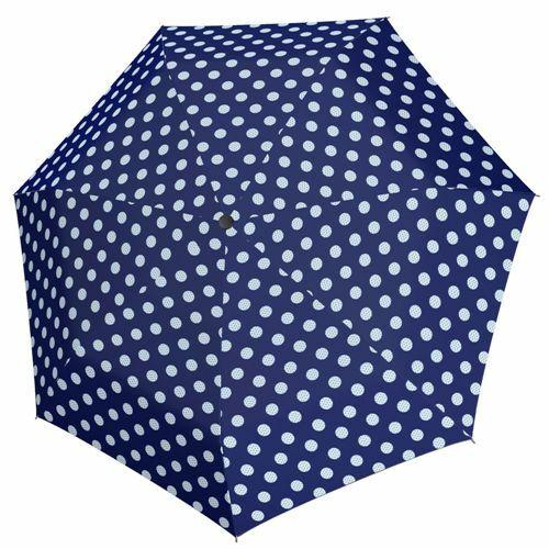 Derby automata női esernyő (Hit Magic Balloon) sötétkék nyitva