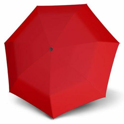 Derby félautomata esernyő (Hit Uni, többféle színben) piros