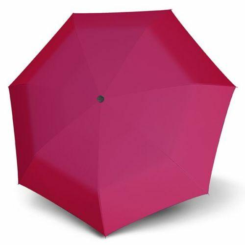 Derby félautomata esernyő (Hit Uni, többféle színben) rózsaszín