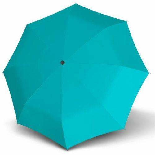 Derby félautomata esernyő (Hit Uni, többféle színben) türkizkék