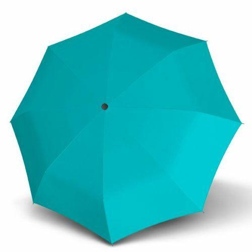 Derby kézi nyitású esernyő (Hit Uni, többféle színben) türkizkék