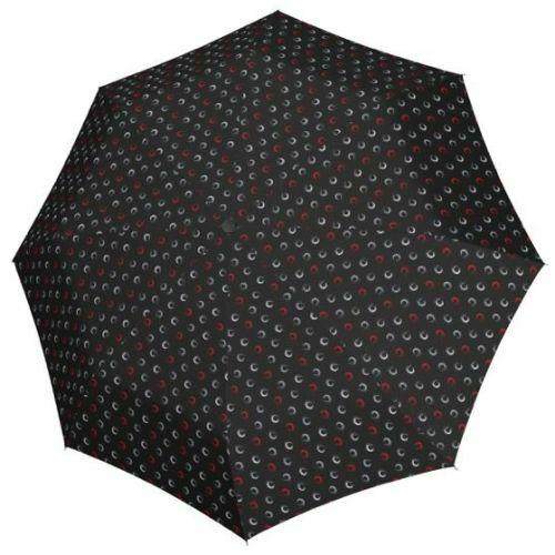 Derby automata női esernyő (Hit Magic Highlight) fekete nyitva
