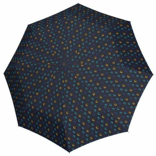 Derby automata női esernyő (Hit Magic Highlight) kék nyitva