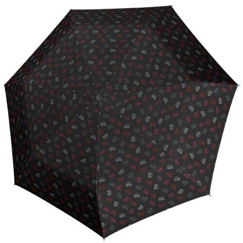 Derby automata női esernyő (Hit Magic Emotion) fekete nyitva