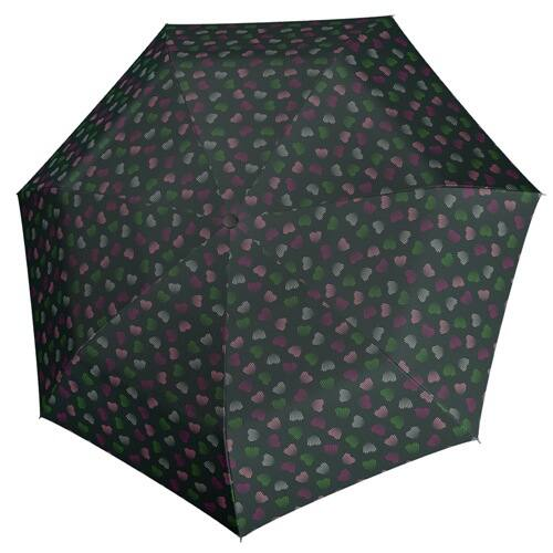 Derby automata női esernyő (Hit Magic Emotion) zöld nyitva