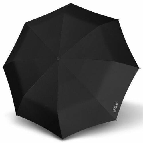 S.Oliver kézi nyitású férfi esernyő (Fruit Coctail) fekete