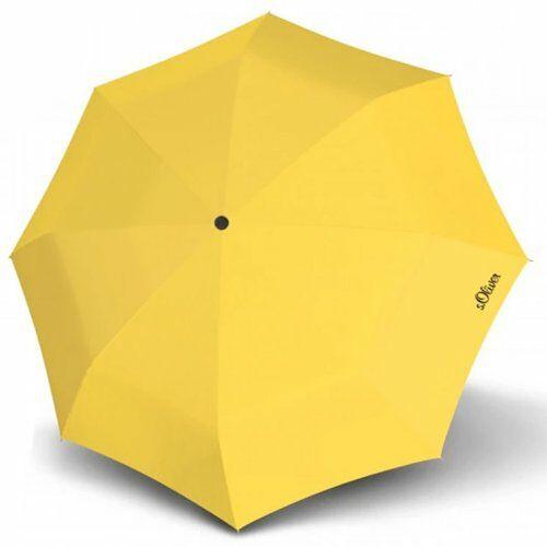 S.Oliver kézi nyitású esernyő (Fruit Coctail) citromsárga