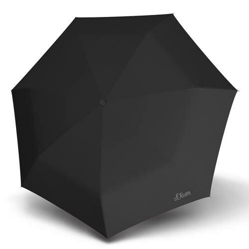 S.Oliver automata esernyő (Duopop Uni) fekete