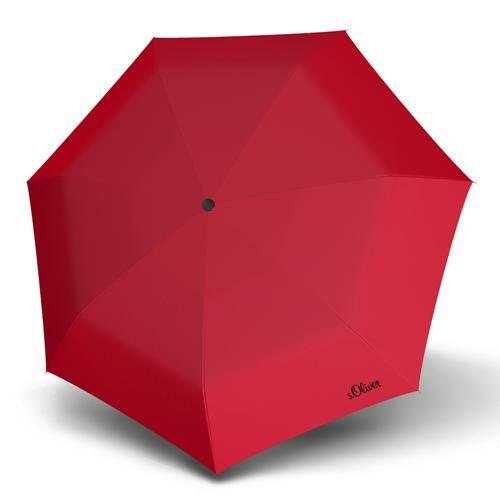 S.Oliver automata esernyő (Duopop Uni) piros