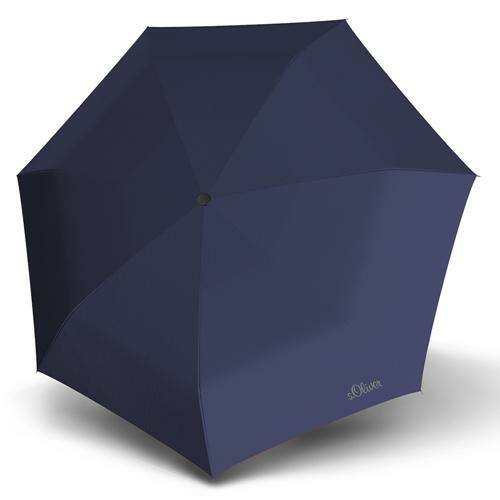 S.Oliver automata esernyő (Duopop Uni) kék
