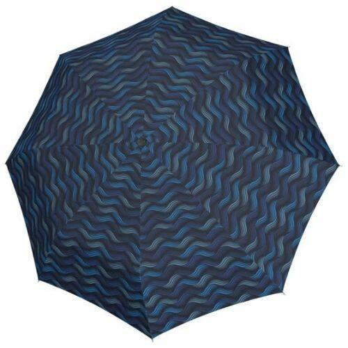 Doppler automata női esernyő (Fiber Magic Gravity) kék nyitva