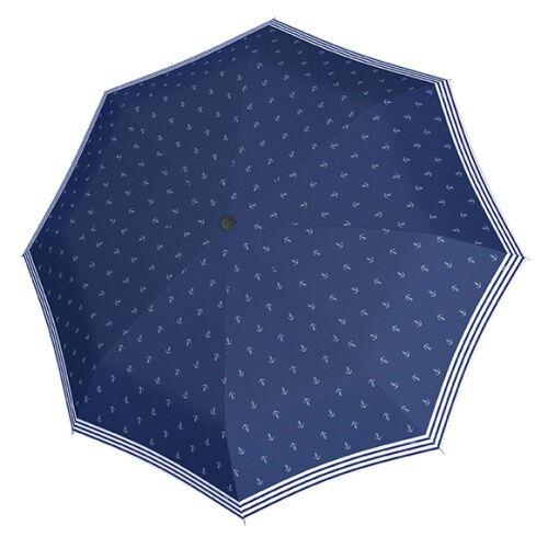 a sötétkék esernyő