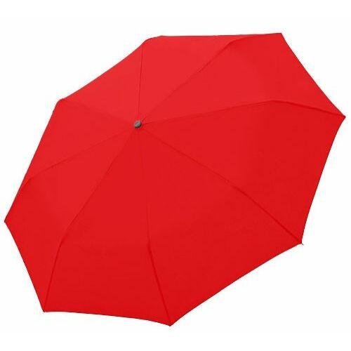 Doppler automata női esernyő (Egyszínű, Fiber Magic) piros nyitva
