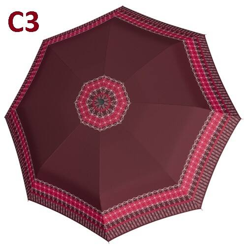 C3 minta -Doppler félautomata női esernyő (Fiber Graphics)