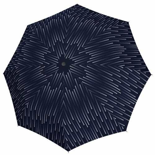 Doppler félautomata női esernyő (Fiber Glamour) sötétkék