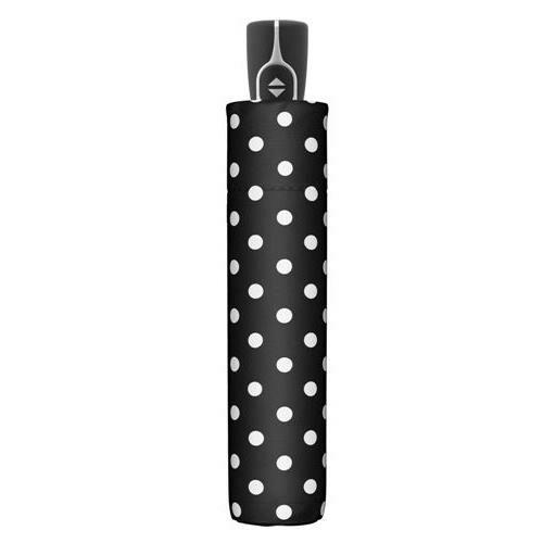 Doppler automata női esernyő (Fiber Magic Black&White) pöttyös