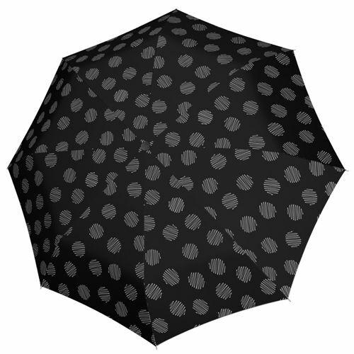 Doppler automata női esernyő (Fiber Magic Soul) fekete nyitva
