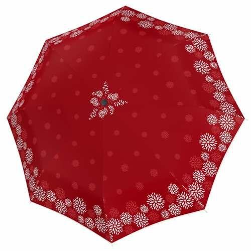 Doppler automata női esernyő (Fiber Magic Style) piros nyitva