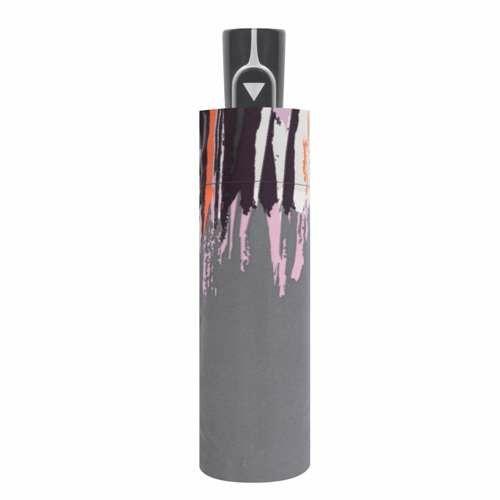 Doppler félautomata női esernyő (Fiber Style) szürke