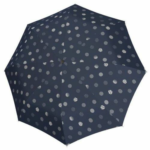 Doppler félautomata női esernyő (Fiber Timeless) foltos