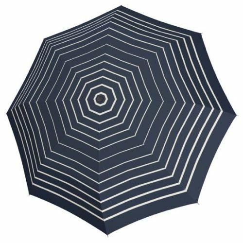 Doppler félautomata női esernyő (Fiber Timeless) csíkos