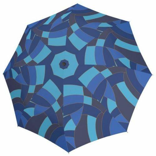 Doppler automata női esernyő (Magic Euphoria Carbonsteel) kék nyitva