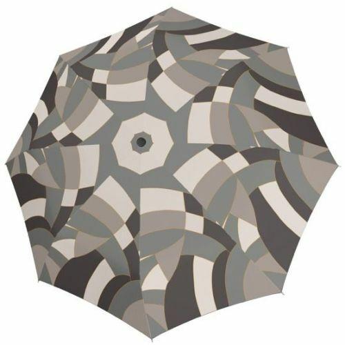 Doppler automata női esernyő (Magic Euphoria Carbonsteel) szürke nyitva