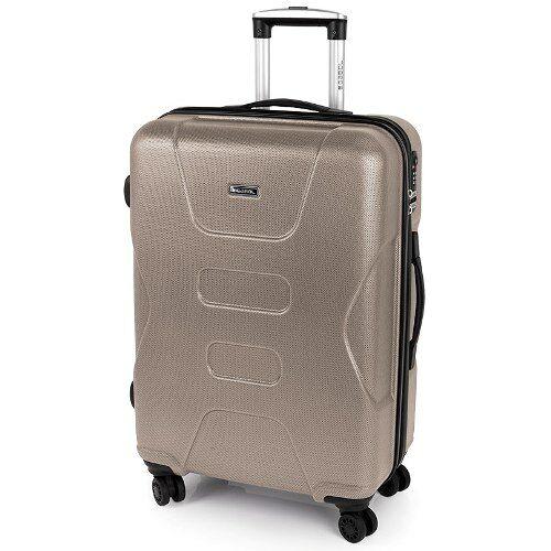 bézs bőrönd